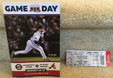 Dansby Swanson MLB Ticket Stub Atlanta Braves Debut and 1st Hit - Lots of Extras