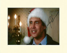 CHEVY CHASE CLARK CHRISTMAS VACATION MOUNTED 8X10 SIGNED AUTOGRAPH PHOTO