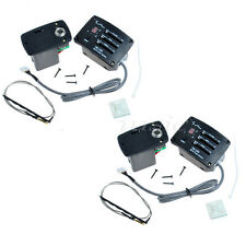 2 Set TM-500 Active Ukulele Pickup EQ And Tuner system Ukelele Parts