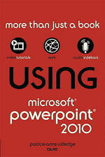 Using Microsoft PowerPoint 2010, Rutledge, Patrice-Anne, Good, Paperback