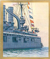 N°259 World War German Boat naval review Reichswehr Germany WWI 30s CHROMO