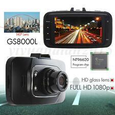 Full HD 1080P Car DVR HDMI Camera Video Recorder Dash Cam G-sensor 2.7''GS8000L