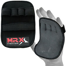 New MRX Workout Grip Pads Weight Lifting Fitness Training Gym Gloves