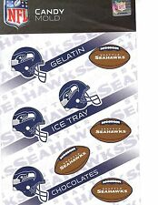 NFL Football Chocolate Candy Mold - Seattle Seahawks
