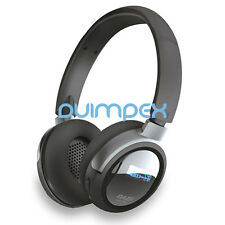 Bluetooth Wireless Headset Kopfhörer mit MP3-Player SD KArte & FM Radio Microfon