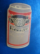 PINS BIERE BOISSON ALCOOL CANETTE BEER BUDWEISER