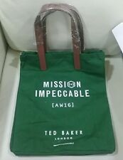 TED BAKER MISSION IMPECCABLE FABRIC SHOPPER BAG