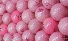 24 NEAR MINT Callaway Solaire PINK  AAAA Used Golf Balls