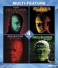 HELLRAISER 4 FILM SET BLU-RAY - BLOODLINE - INFERNO - HELLSEEKER - HELLWORLD