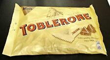 22 Mini pieces of Toblerone Chocolate bars with Honey and Almond, 275 gram