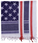 Red White Blue USA Flag Stars & Stripes Shemagh Tactical Desert Keffiyeh Scarf