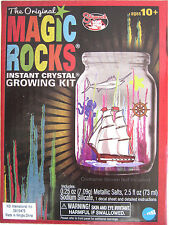 Original MAGIC ROCKS Instant Crystal Growing Kit fun science project toy grow