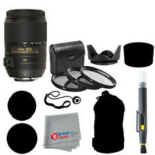 Nikon 55-300mm f/4.5-5.6G ED VR AF-S DX Nikkor Zoom Lens + Deluxe Accessory Kit