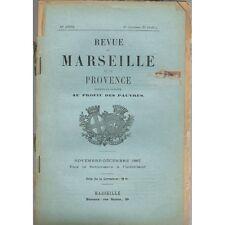 Revue de MARSEILLE et de PROVENCE Santon De JOINVILLE en Palestine Esparron 1887