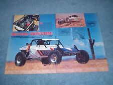 """1985 Class 2 VW Powered Race Buggy Vintage Article """"Beyond Criticism!"""""""