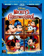 Disney Holiday Classic Mickey's Christmas Carol Blu-ray DVD and Digital Copy