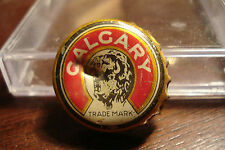 Calgary - Canada beer cap - Canadian crown - Cork lined