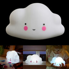 Perfect Cloud Kids Baby Children Portable LED Night Light Nightlight Lamp Decor