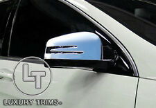Mercedes CLA C117 CLA200 CLA250 Chrome Mirror Covers by Luxury Trims 2013-2016