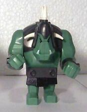 LEGO 7038 - Fantasy Era Troll, Troll, Sand Green w/ 5 White Horns - MINI FIGURE