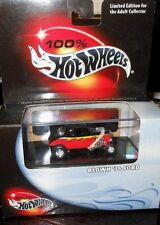 """HOT  WHEELS  100% : BLOWN """" 34 FORD Includes  Display  Case  scale 1:64  yr.2000"""