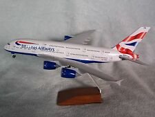 BRITISH AIRWAYS AIRBUS A380 DESK MODEL SKYMARKS EXECUTIVE