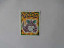 Autocollant Stickers POKEMON Collection MERLIN N°34 NIDOKING !!!