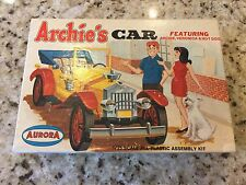 Aurora Models 1/25 ARCHIE'S CAR with Archie Veronica & Hot Dog Vintage Original
