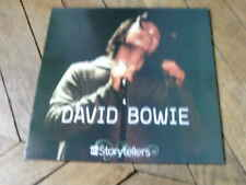 DAVID BOWIE VH1 Story tellers LP Live manhattan 99