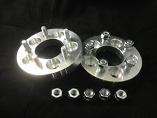 4X CONVERSION WHEEL SPACERS ADAPTERS ¦ 5X100 TO 5X114.3 ¦ 12X1.25 ¦ 1 INCH 25MM