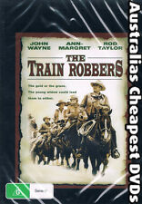 The Train Robbers DVD NEW, FREE POSTAGE WITHIN AUSTRALIA REGION ALL