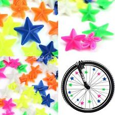 48 Bike cycle child Tricycle Wheel Spoke colourful decoration Plastic bead star
