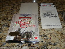 War In Middle Earth (PC, 1988) Game MS-Dos 5.25 Inch Floppy Disk & Big Box
