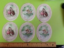 Beatrix Potter Peter Rabbit Fabric Iron On Appliques #13
