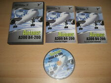 Airbus A300 B4-200 simcheck PC DVD ROM Add-On Flight Simulator Sim X FSX FS X