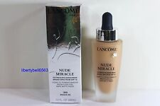 Lancome Nude Miracle Liquid to Powder Makeup #320 BISQUE (W) 1oz EXP: 9/2017 NIB