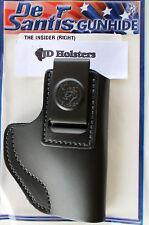 DeSantis Insider IWB Holster Bersa Thunder 380 Black Leather Right Hand