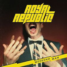 ROYAL REPUBLIC - WEEKEND MAN  (LTD.DELUXE EDT.)  CD NEU