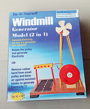 Windmill Challenge for Students for Age 10+, Do It Yourself (DIY) Science Kit