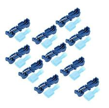 10 Pcs Electrical Cable Connectors Quick Splice Lock Wire Terminals Crimp JR