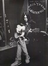 NEIL YOUNG  Greatest Hits  sheet music songbook  CSN&Y
