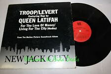 "Queen Latifah . Troop Levert . New Jack City LP 12"" (VG) (PROMO)"
