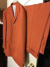 Nicholaus Hill Men's Suit; Big&Tall; XXL; Pimp