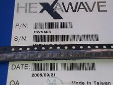 [10 pcs] HWS408 HEXAWAVE SMD SOT363  Switch 50Ω SPDT  DC to 3GHz Isolation 25dB