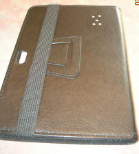 """UZZO PU Leather Folio Stand Protection Carrying Case Cover 7 """" Device ( Black)"""
