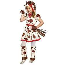 Girls Appaloosa Pony Horse Costume 8-10 Halloween Dance Dress Up