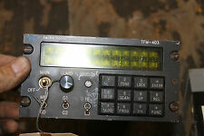 Technisonic TFM-403 SOFTWARE H6A UHF/FM Transceiver  HELICOPTER