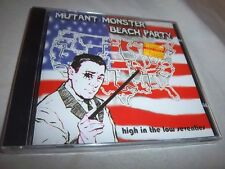 MUTANT MONSTER BEACH PARTY HIGH IN THE LOW 70'S NEW SEALED CD