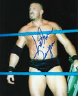 Luther Reigns signed 8x10 color wrestling photo RARE WWE WWF