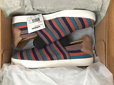 Adidas Originals Consortium X Pharrell Pink Beach Multicolor Slip on Sz 10.5